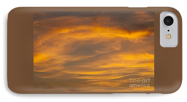 Cloud Patterns IPhone Case by Jim Corwin