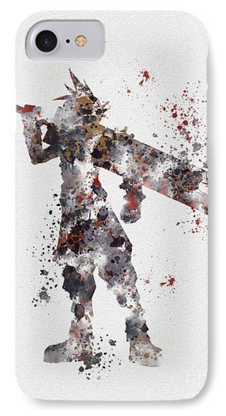 Cloud Strife IPhone Case by Rebecca Jenkins