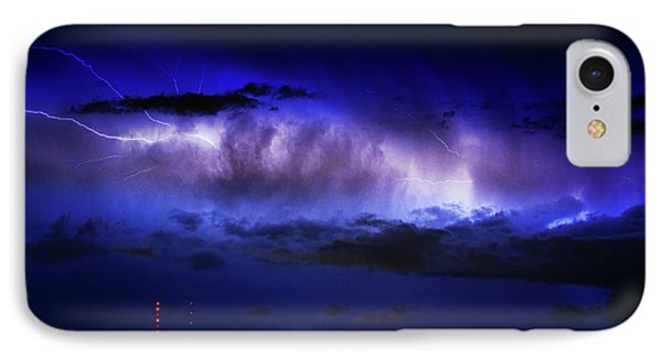 Cloud To Cloud Lightning Boulder County Colorado IPhone Case by James BO  Insogna