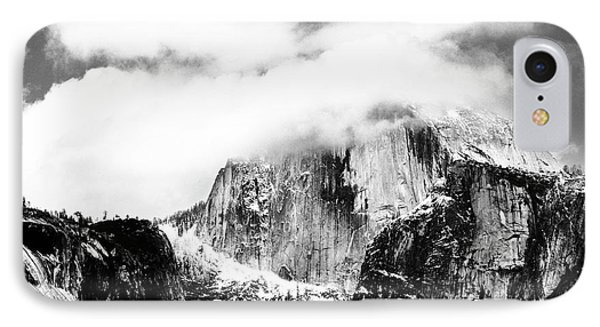 Clouded Half Dome Phone Case by Charmian Vistaunet