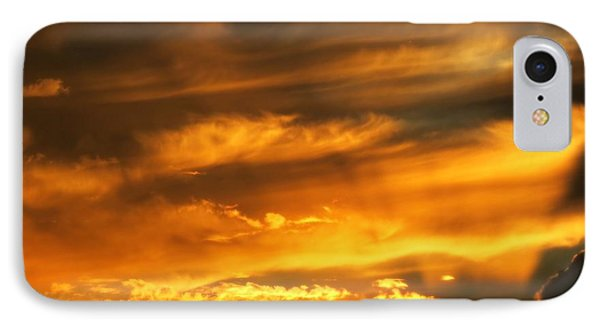 Clouded Sunset IPhone Case by Kyle West