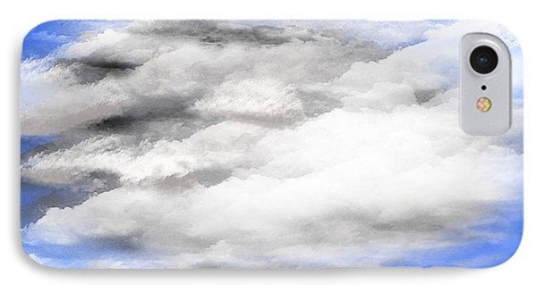 Clouds 2 IPhone Case by Walter Chamberlain