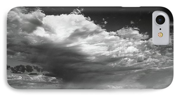 Clouds Along Indian Route 13 IPhone Case by Monte Stevens