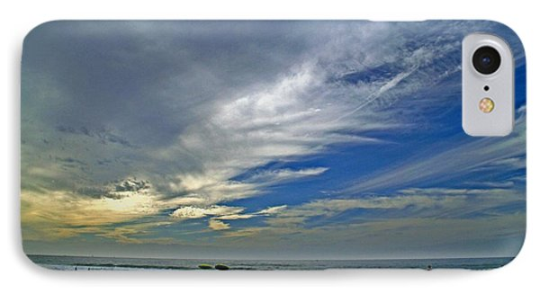 IPhone Case featuring the photograph Clouds And Blue by Christopher Woods