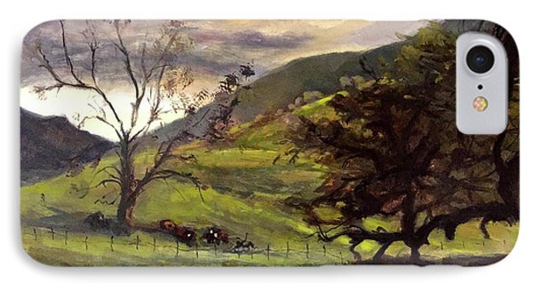 Clouds And Cattle IPhone Case