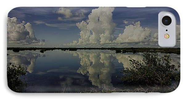 Clouds And Reflections IPhone Case