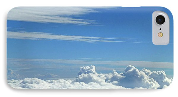 IPhone Case featuring the photograph Clouds And Sky M4 by Francesca Mackenney