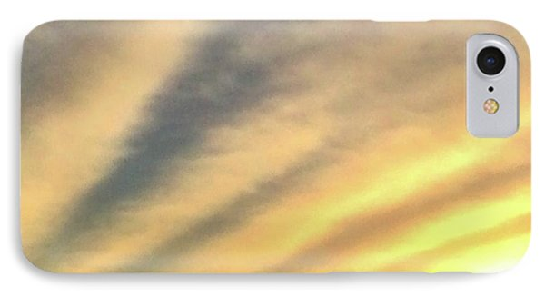 Clouds And Sun IPhone Case by Sumoflam Photography