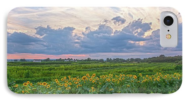 Clouds And Sunflowers IPhone Case