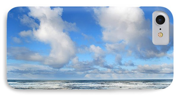 IPhone Case featuring the photograph Clouds At Play by Larry Keahey