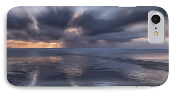 Clouds At Sunset IPhone Case by Masako Metz