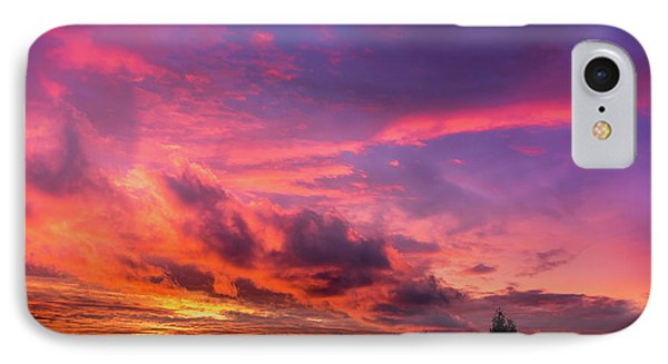 IPhone Case featuring the photograph Clouds At Sunset by Onyonet  Photo Studios