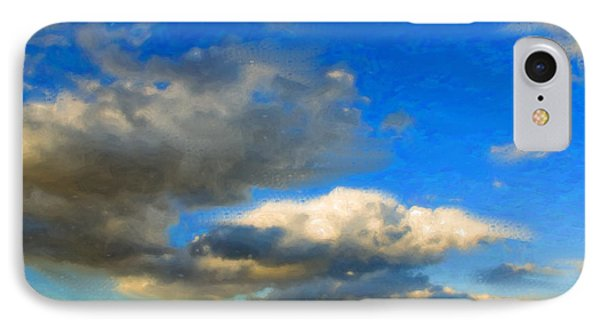 Clouds Phone Case by Betty LaRue