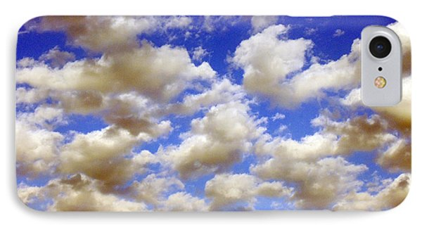 Clouds Blue Sky IPhone Case by Jana Russon