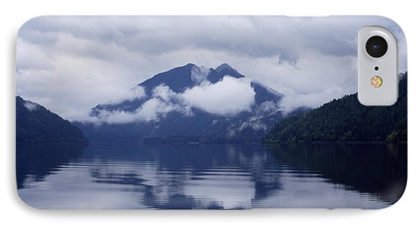 Clouds In The Lake IPhone Case by Jane Eleanor Nicholas