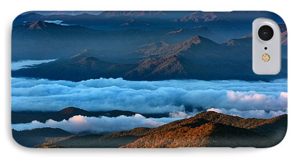 Clouds In The Valley IPhone Case by Rick Berk