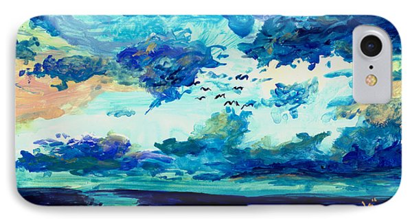 Clouds IPhone Case by Melinda Dare Benfield