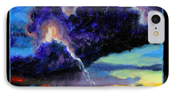 Clouds Number Six Phone Case by John Lautermilch