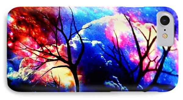 Clouds Of Light God's Work IPhone Case by Kathy Kelly