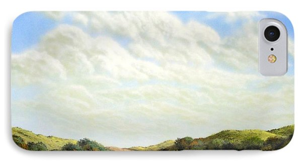 Clouds Of Spring Phone Case by Frank Wilson