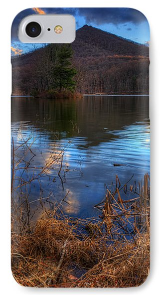Clouds On Abbott Lake IPhone Case by Steve Hurt