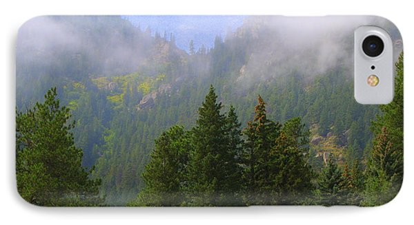 Clouds On The Mountain IPhone Case