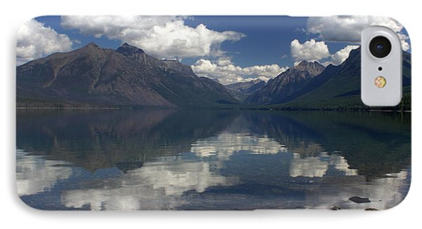 Clouds On The Water Phone Case by Marty Koch