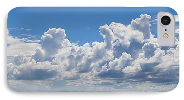 Clouds Over Catalina Island - Panorama IPhone Case
