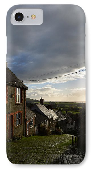 Clouds Over Gold Hill IPhone Case