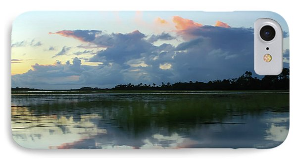 Clouds Over Marsh IPhone Case