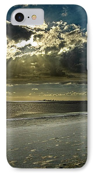 Clouds Over The Bay Phone Case by Christopher Holmes