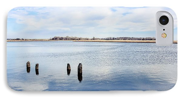 IPhone Case featuring the photograph Clouds Over The Mullica River by Colleen Kammerer