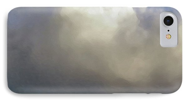 Clouds Over The Ridge Phone Case by Agustin Goba
