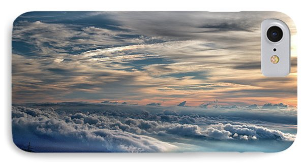 IPhone Case featuring the photograph Clouds Over The Smoky's by Douglas Stucky