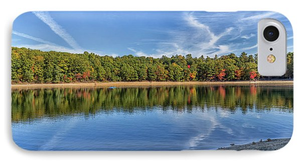 Clouds Over Walden Pond IPhone Case by Brian MacLean