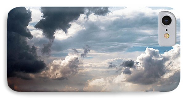 IPhone Case featuring the photograph Cloudscape ... Nine by Tom Druin