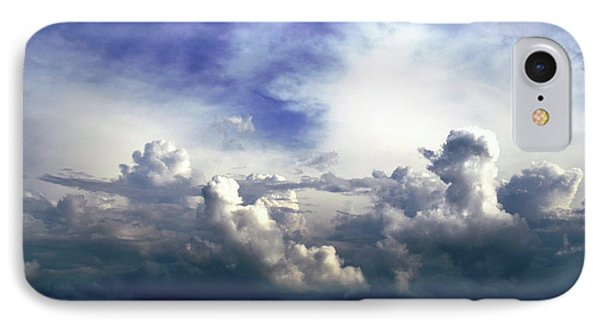 IPhone Case featuring the photograph Cloudscape Fourteen by Tom Druin