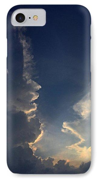 Cloudy Conversation IPhone Case