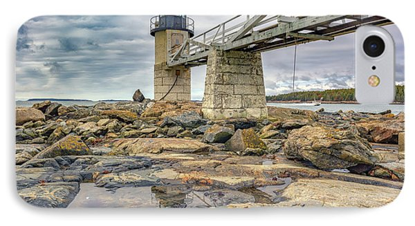 IPhone Case featuring the photograph Cloudy Day At Marshall Point by Rick Berk