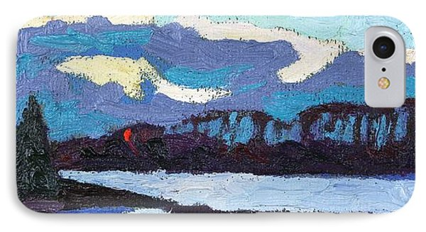 Cloudy Sunset Phone Case by Phil Chadwick
