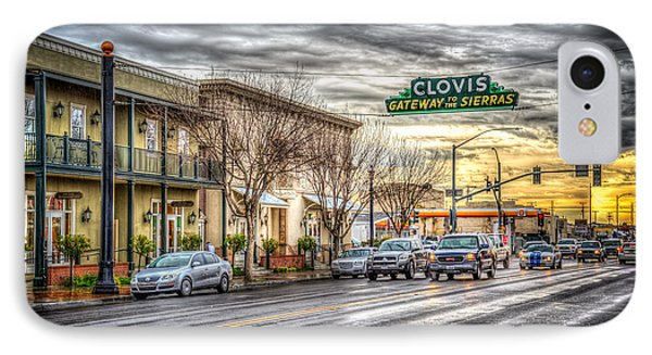 Clovis California IPhone Case