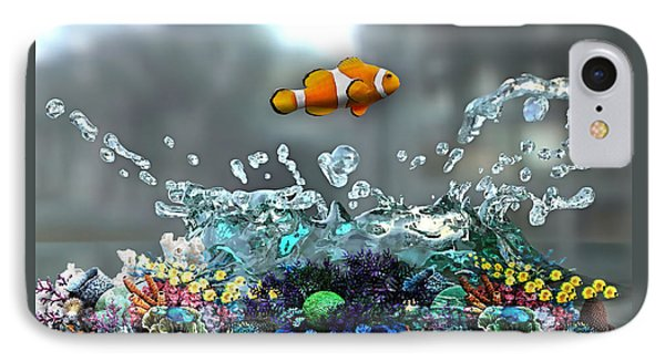Clown Fish Collection IPhone Case by Marvin Blaine