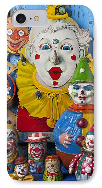 Clown Toys Phone Case by Garry Gay