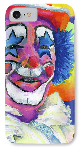 Clown With Balloons Phone Case by Stephen Anderson