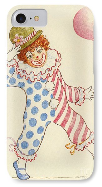 Clowning Around At The Kiddie Parade IPhone Case by Dee Davis