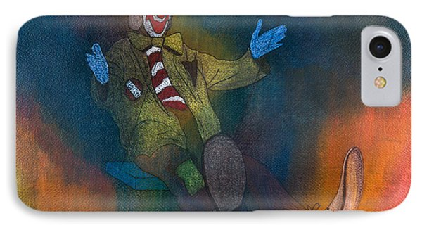 Clowning Around IPhone Case by Leonette Leonette