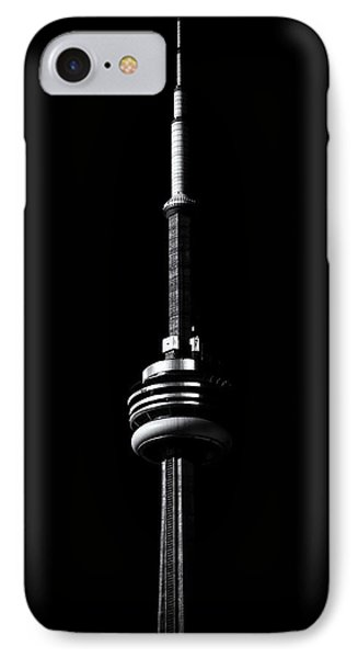 IPhone Case featuring the photograph Cn Tower Toronto Canada No 1 by Brian Carson