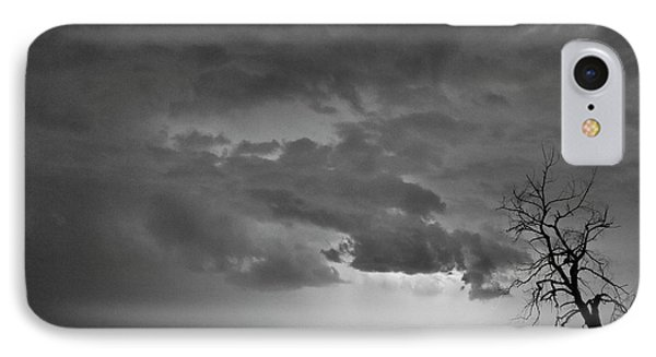 Co Cloud To Cloud Lightning Thunderstorm 27 Bw Phone Case by James BO  Insogna
