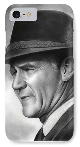 Dallas iPhone 7 Case - Coach Tom Landry by Greg Joens