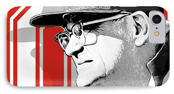 Miami iPhone 7 Case - Coach Woody Hayes by Greg Joens